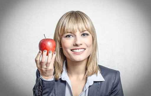 Gesunde Ernährung fördert das Wohlbefinden