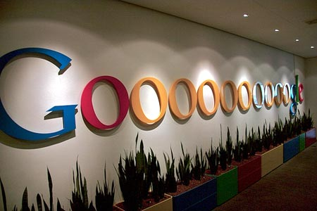 Businessyoga bei Google