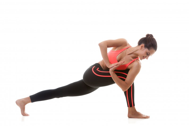 Yoga kräftigt und baut Stress ab