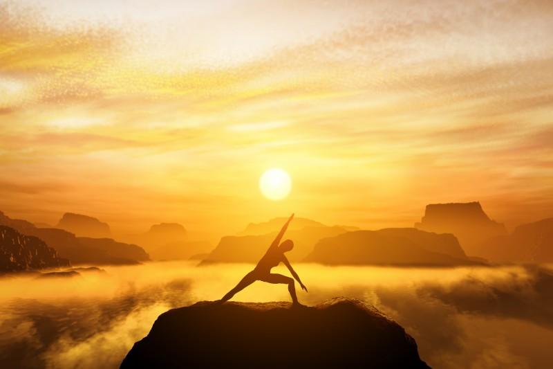 Yoga verbindet Körper, Geist und Seele